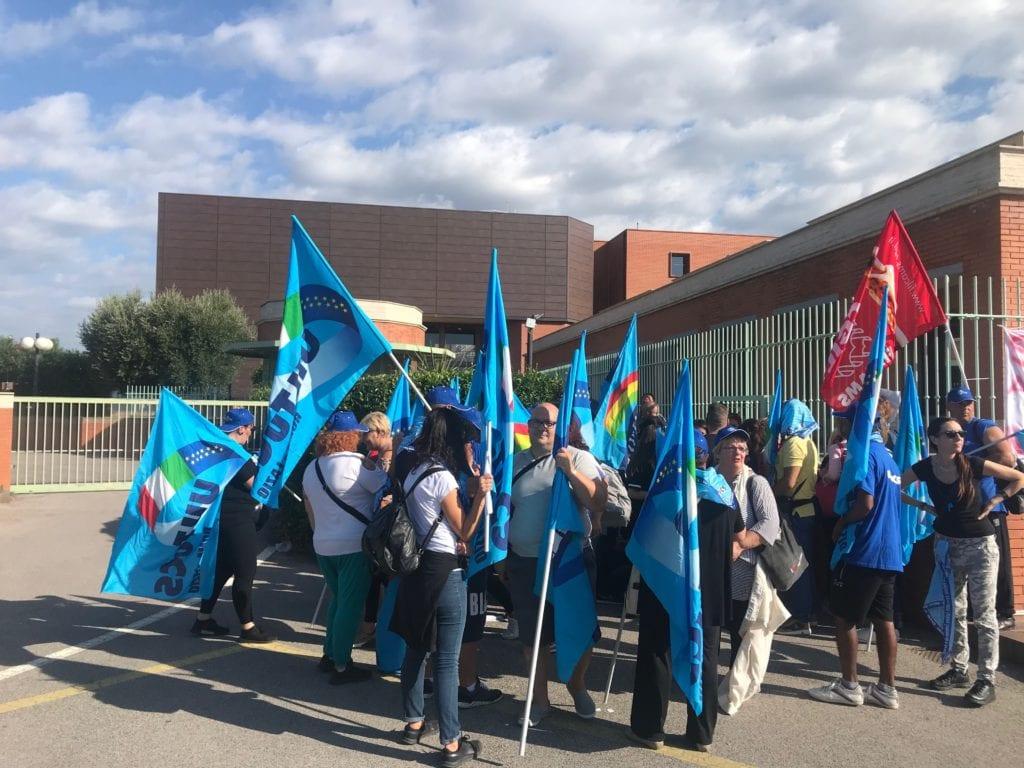Uilctus coop proteste sindacato