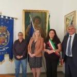 La Città di Formia accoglie Jillian Itharat, Vice Console Statunitense in Roma