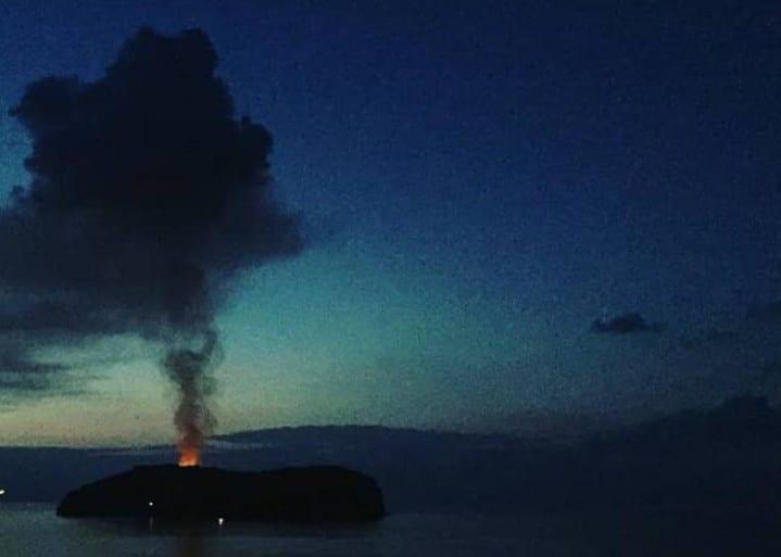 incendio mongolfiera santo stefano ventotene settembre 2018 2