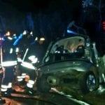 Auto contro un albero tra Fondi e Monte San Biagio, muore un giovane