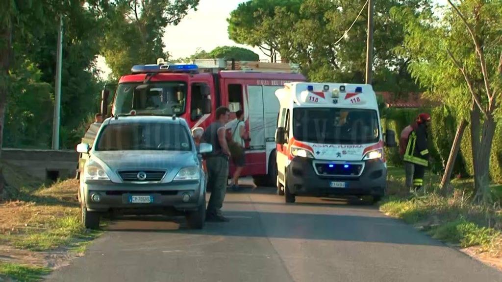 Incidente presso un'azienda agricola a Terracina: gravissimo un bambino #Video