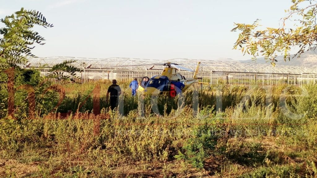 incidente terracina bambino nastro azienda agricola settembre 2018