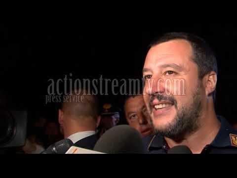 """Salvini a Latina: """"Finalmente meno tasse per chi fa impresa"""" #VIDEO"""