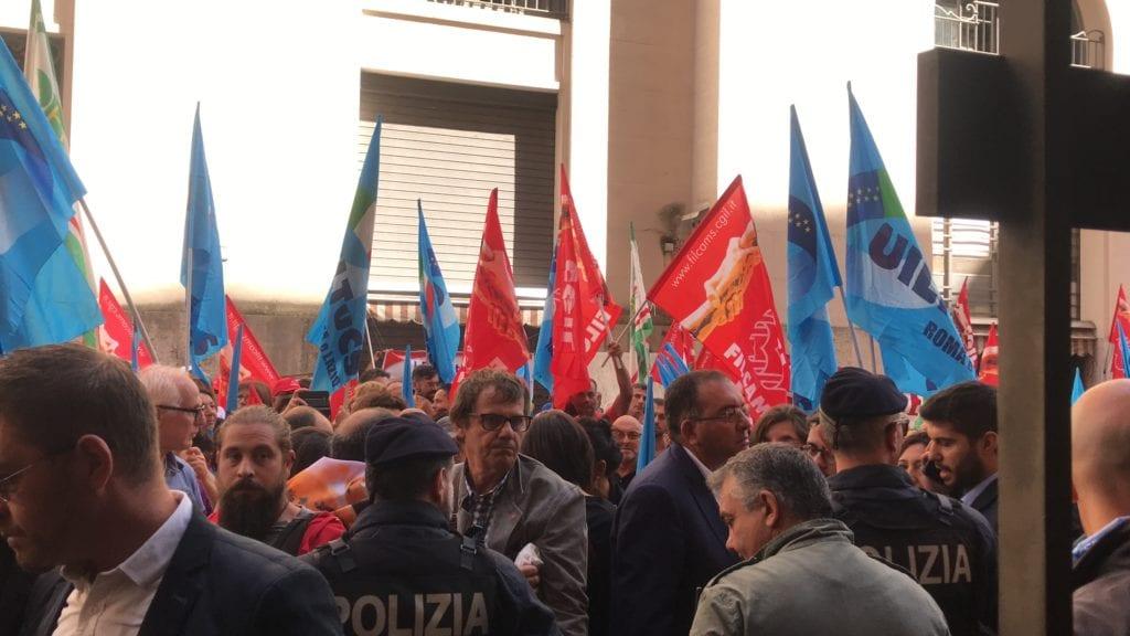 sciopero unicoop ministero roma settembre 2018 3