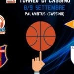 Basket, Benacquista Latina: esordio ufficiale col quadrangolare a Cassino