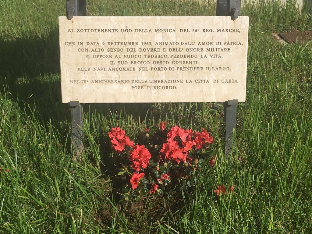 ugo della monica soldato gaeta armistizio seconda guerra racconto settembre 2018 6