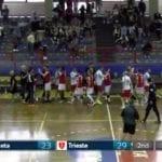Pallamano, il Gaeta soccombe in casa contro un ottimo Trieste #VIDEO