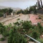 Tromba d'aria a Sperlonga: richiesto supporto dei Vigili del Fuoco