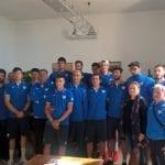 Minturno, il sindaco incontra i giocatori e lo staff del Basket Scauri