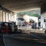 Sr Flacca, grave incidente nella galleria tra Gaeta e Sperlonga: entrambe le corsie chiuse al traffico
