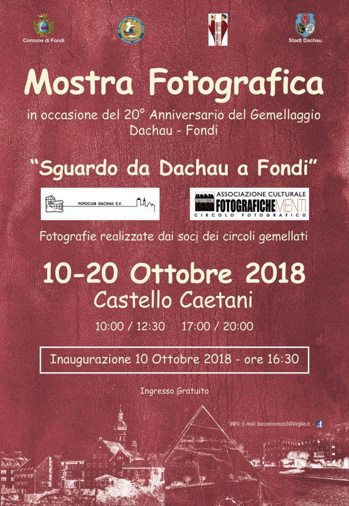 LOC. Mostra fotografica Dachau-Fondi 2018