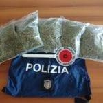 Spaccio di stupefacenti: la Polizia di Formia sequestra quasi un chilo e mezzo di marijuana