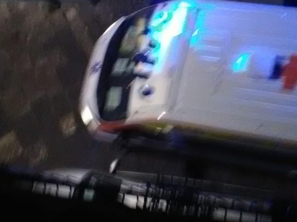 ambulanza incastrata itri divieto sosta auto via appio claudio ottobre 2018