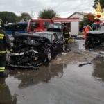 Incidente sulla Pontina, frontale con 4 feriti. Grave una bimba di 5 anni