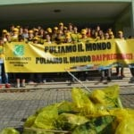 'Puliamo il mondo', la manifestazione di Legambiente ha fatto tappa a Scauri