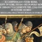 'Il Campidoglio fuori Roma', sabato la presentazione del libro di Ettore Di Meo