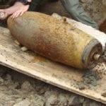 Domenica il disinnesco della bomba ad opera degli artificieri dell'Esercito