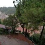 Tromba d'aria a Itri: danni al Santuario della Madonna della Civita