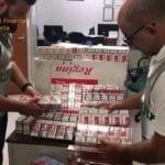 Sigarette di contrabbando, sgominata banda che operava a Mondragone: arrestato anche un 31enne di Formia #VIDEO
