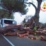 Violenta ondata di maltempo sulla provincia: bloccate via Appia e Pontina