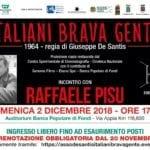 """Italiani Brava Gente"", arriva a Fondi la pellicola restaurata di De Santis"