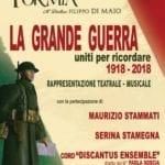 Formia, Complesso Bandistico U.Scipione per celebrare il centenario della fine della Prima Guerra Mondiale