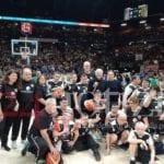I ragazzi della Basket4ever arrivano fino al forum d'Assago #FOTO
