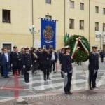 Formia, a Piazza Vittoria deposta la corona al Monumento ai Caduti (#FOTO)