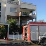 Paura a Sabaudia, incendio in un appartamento. Sul posto i vigili del fuoco