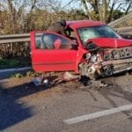 Incidente fra tre auto, disagi e code sulla Pontina