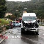 Furgone contro auto, muore una donna. L'incidente tra Fondi e Lenola