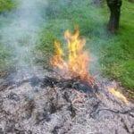 Brucia sterpaglie, l'incendio invade il terreno confinante: anziano denunciato