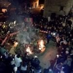 Accensione del ceppo natalizio, a Trivio centinaia di presenze per il tradizionale appuntamento