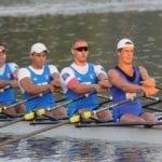 Quattro canottieri delle Fiamme Gialle ricevono il Collare d'Oro al merito sportivo