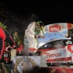 Luca Ferri su Ford Fiesta WRC firma il tris al Rally di Sperlonga #FOTO #VIDEO