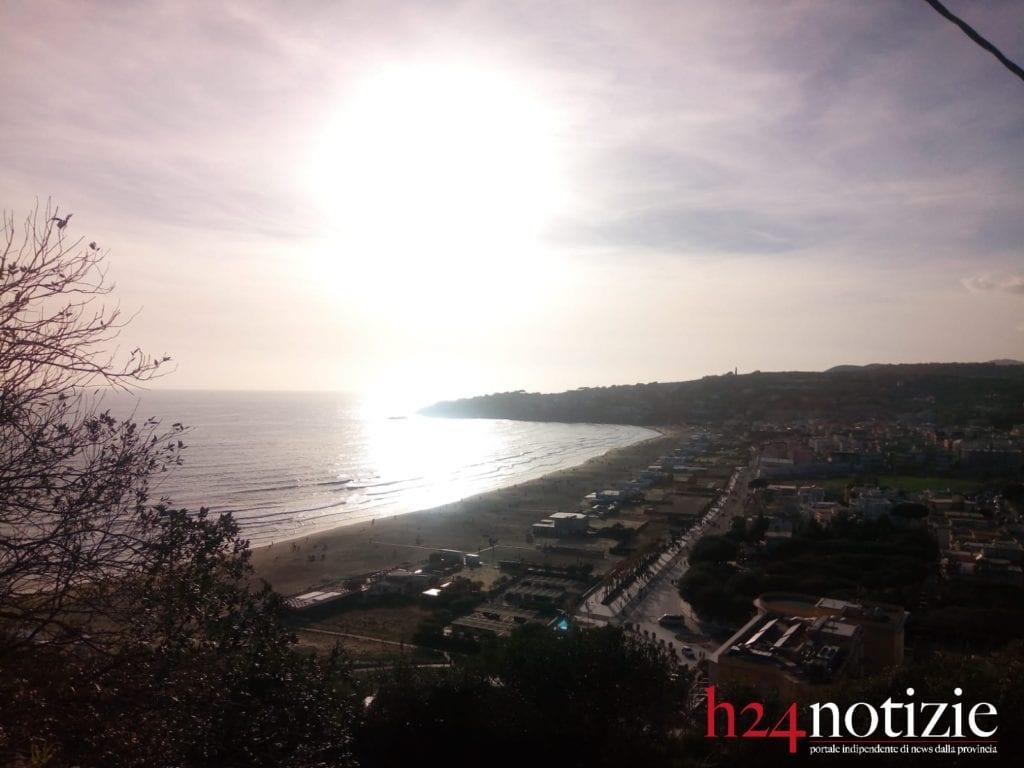 Gaeta spiaggia Serapo_tramonto