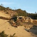 Alloggio di fortuna tra le dune, nuova segnalazione