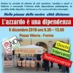 Caritas contro azzardo, la tenda del buon gioco il 9 dicembre a Formia