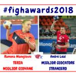 FIGH Awards, Fondi c'è: Leal miglior straniero, Manojlovic terza giovane