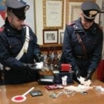 Fondi, droga in cassaforte: arrestato dai Carabinieri