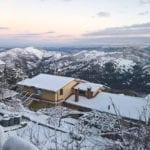 Spettacolo sui Lepini, è tornata la neve a Rocca Massima (foto)
