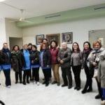 Aprilia, la visita degli utenti del Centro Alzheimer all'infiorata