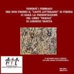 """""""Parole"""" di Lorenzo Vanità a Formia per donare il ricavato all'AIL"""