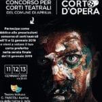 Venerdì, sabato e domenica il concorso per i corti teatrali