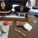 Blitz antidroga a scuola, 18enne di Fondi arrestato – VIDEO