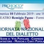 """Domenica a Formia la """"Giornata Nazionale del dialetto"""""""