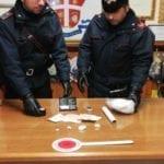 Fondi, 31enne arrestato per spaccio di cocaina
