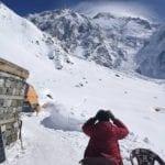 Ricerche Nardi, dall'elicottero: tenda sepolta dalla neve