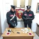 Spaccio di stupefacenti: denunciato dai carabinieri un 28enne di Latina