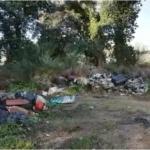 Maxi discarica nel Parco a due passi dalle Fonti di Lucullo